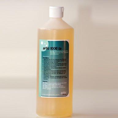 Ölreiniger für Teer Ölfleckentferner biologisch mit Mikroben, Artic 1006 ta für Teer, Asphalt, Bitumen und weiche Oberflächen, 1 Liter (€ 12,00/Liter)