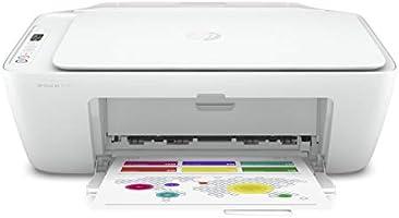 HP DeskJet 2710 - Impresora multifunción (7.5 ppm, A4, WiFi, escanea y Copia), Blanca