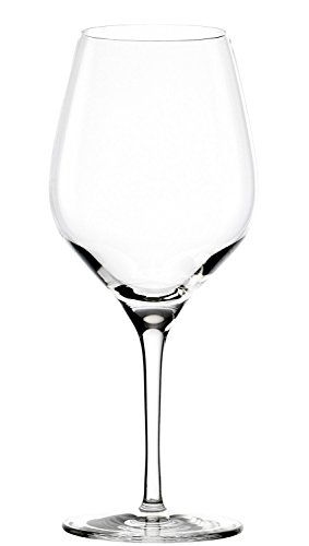 Stölzle Lausitz Exquisit Rotweinkelche, 480ml, 6er Set Weinglas, spülmaschinenfeste Universal...