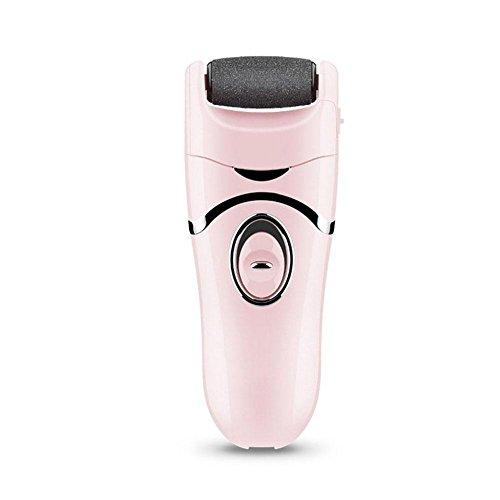 WANGXN Elektrische Fuß Kallus Entferner Pediküre Entfernen Abgestorbene Haut Elektrische Mühle Fuß Schwielen Pediküre Werkzeuge, Pink