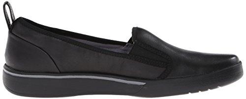Clarks Penwick Albee Flat Black Leather