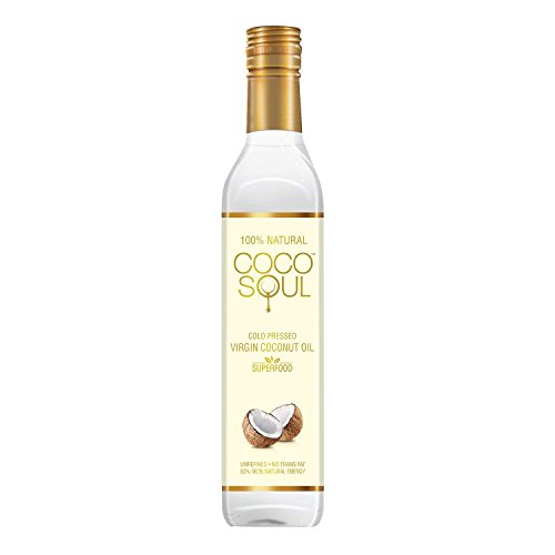 Coco Soul Cold Pressed Natural Virgin Coconut Oil, 250 ml