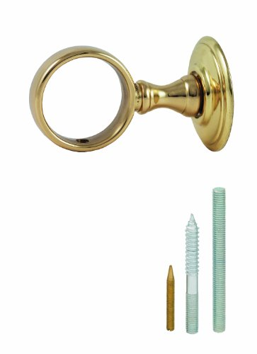 Chapuis AR00 Anneau laiton poli verni Diamètre 35 mm pour Corde Diamètre 32 mm