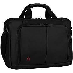 """Wenger 601066 Source - Maletín con Compartimento Acolchado para portátil (16"""") Color Negro"""