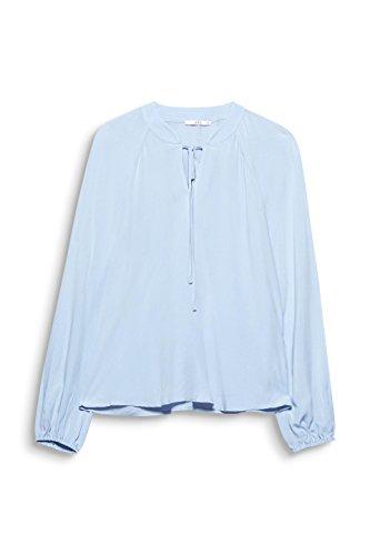 edc by ESPRIT Damen Bluse Blau (Light Blue 440)