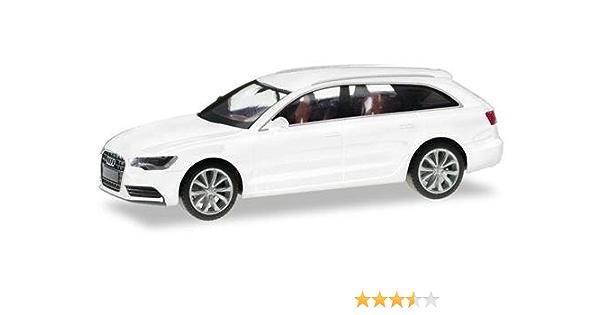 Herpa 034883 004 Audi A6 Avant Gletscherweiß Metallic Spielzeug