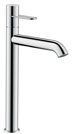Hansgrohe lavabo mezclador 250Axor Uno Asa sin desagüe níquel cepillado, 38034820