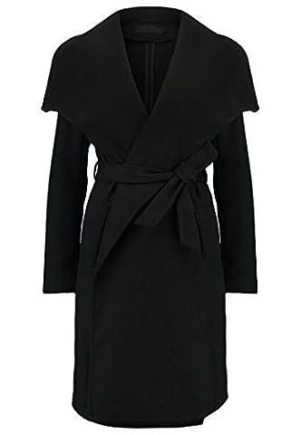 ONLY ONLNEW PHOEBE Damen Wollmantel / klassischer Mantel - black