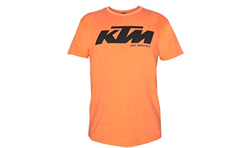 Original Factory Team T-Shirt - Orange - Logo Print (XXL)