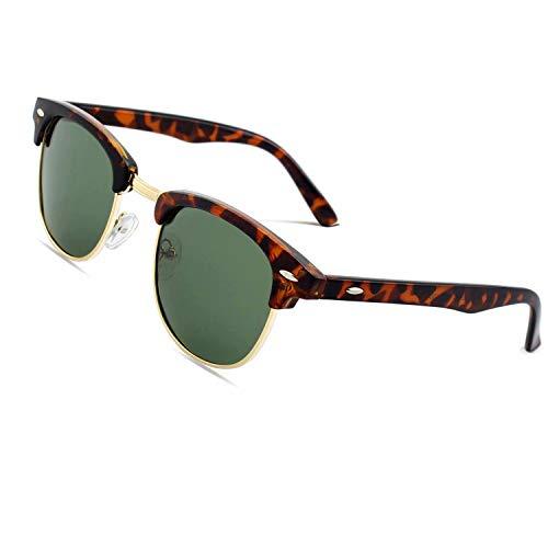 CGID Gafas sol polarizadas retro medio marco