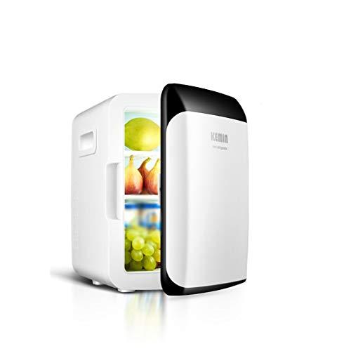 QCYSK Auto Kühlschrank 15L Auto Nach Hause Dual Use Mini Kalt Und Warm Inkubator Home Refrigeration Wohnheim Raumkühlung Mini Kühlschrank (A) -