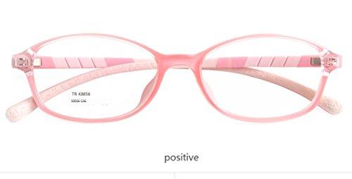 Moqj occhiali da vista in silicone per bambini occhiali da vista miopia occhiali da vista ragazzi scolara montature per occhiali occhiali ultralight sicurezza ambientale confortevole, f