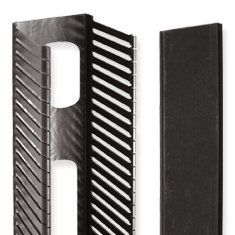 PANEL, VERT FINGER DUCT, FRONT, 4x5x35 by ICC Front-finger Duct