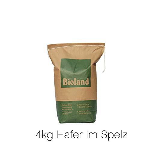 Bio Futterhafer 4kg - PREMIUMQUALITÄT - direkt vom Bauernhof - aus kontrolliert biologischem Anbau -