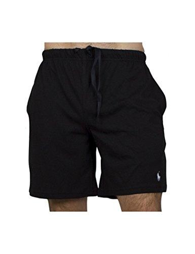 Polo Ralph Lauren Herren Schlafanzughose Sleep Short, Schwarz (Polo Black 001), Small