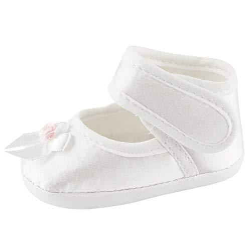 Toma Taufschühchen Festliche Baby Taufschuhe Babyschuhe Mädchen Baby Sandalen Rosa Größe 10cm