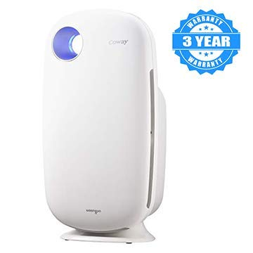 Coway Sleek Pro AP-1009 Air Purifier (Pre Filter, Patented Urethane...