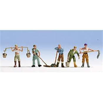 Costruttori edili 5 personaggi