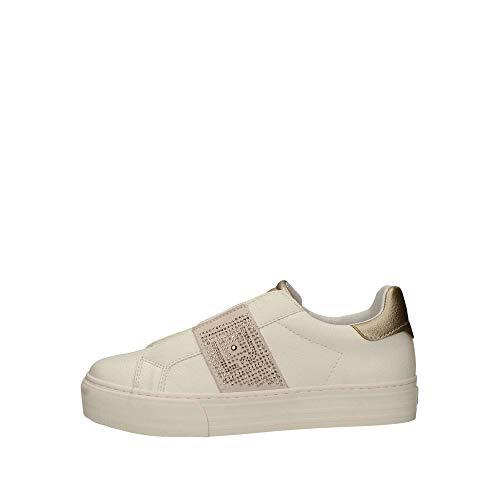 gama completa de artículos muchos de moda seleccione original liu jo girl zapatillas de tela para mujer dorado size 40 gz86e1b ...