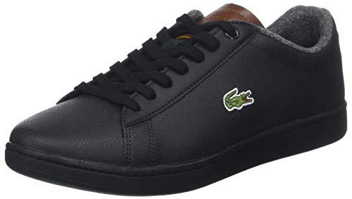 Lacoste Sport Herren Carnaby Evo 318 2 SPM Sneaker, Schwarz (Blk/BRW 094), 44.5 EU