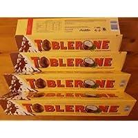 Toblerone Crispy Coconut Milk Chocolate, 360 g, Pack of 5