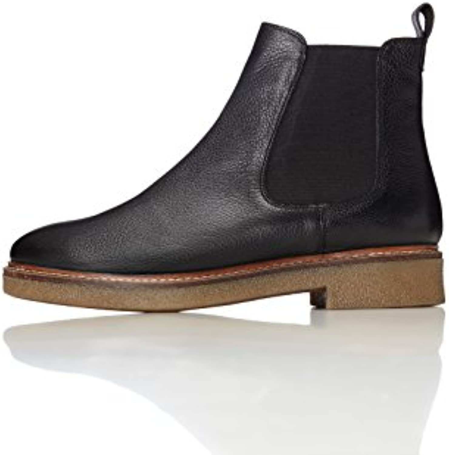 1d48923bcbf30 FIND Women rsquo s Chelsea Boots in Leather Gum Sole Rand B072HJ64SK  B072HJ64SK B072HJ64SK Parent 0b3d1d
