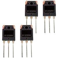 Milageto Transistor De Conmutación De Potencia De Alto Voltaje 4xD13009K NPN TO3-P 3 Pines 100W 12A