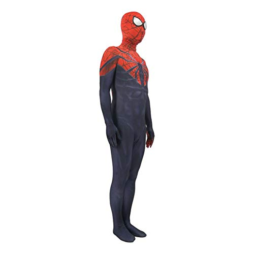 -Man Kostüm Erwachsene Ultimate Spider-Man Strumpfhosen Cosplay Anzug Anime Kostüm Party Performance Party Kleid,Adult-M ()