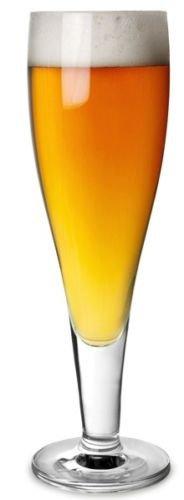 Lot de 6 Cristal Stolzle Lausitz Milano Verres à Bière à pied 390 ml