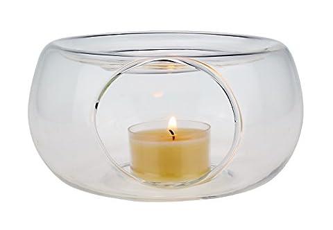 Stövchen / Teewärmer aus Glas