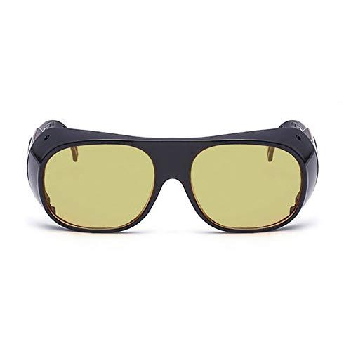 Männer Frauen Nachtsicht Fahrbrille Schutzbrille Anti Glare Brille Anti Windschutzbrille Schweißspiegel Anti Impact Brille