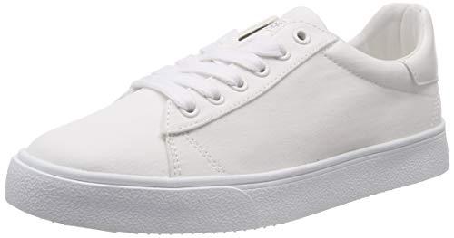 ESPRIT Damen Cherry LU Sneaker Weiß (White 100) 42 EU