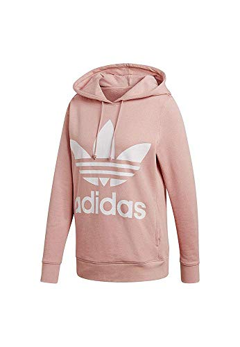 adidas Damen Trefoil Hoodie, Pink Spirit, 34