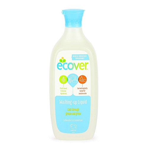 Ecover ecological washing up liquid, camomile and marigold fragrance, 500ml, EACH