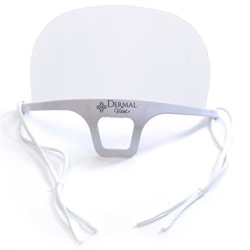 Dermal Vital°Hygienemaske°Atemschutzmaske°Mundschutz Maske für Kosmetikstudio°Wimpernverlängerung°Microblading°Tattoo°1 Stück° weiß°Größe: 14x10.5cm