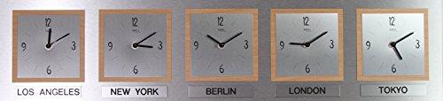 Weltzeituhr - Konferenzuhr AMS W-9348-18