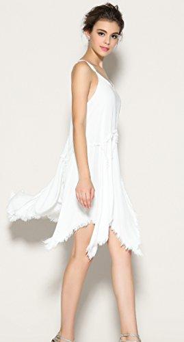 Pretty-Boho -  Vestito  - Donna Bianco