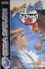 Street fighter Alpha 2 - Saturn - PAL