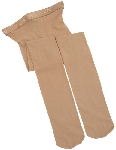 Capezio Big Girls Hold & Stretch Footed Tight (N14C) -CARAMEL -L - Capezio Stretch-strumpfhosen