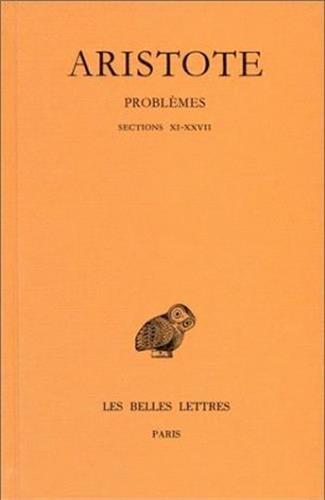 Problèmes, tome 2 : Sections XI - XXVII