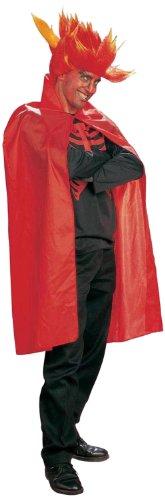 Roter Umhang Ideen Kostüm (Widmann 3584S - Umhang, Zubehör, circa 115 cm,)