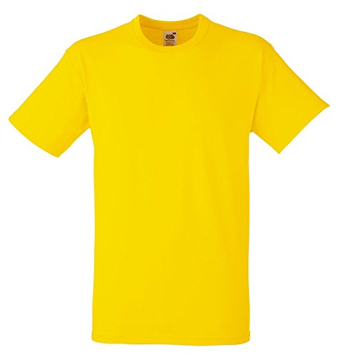 Fruit of the Loom: Heavy Cotton T 61-212-0, Größe:XL;Farbe:Yellow