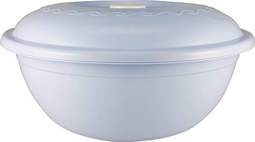 Poly Time Teigschüssel   Hefeteigschüssel   Spülmaschinenfest   Teig Gefäß   Deckel   7,5 L   Lila