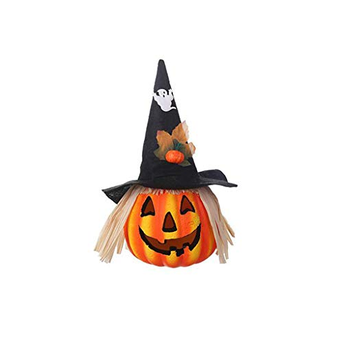 Kostüm Pfau Infant - Mitlfuny Halloween coustems Kürbis Hexe Cosplay Gast Ghost Schicke Party Halloween deko,Halloween-Hohle glühende Kürbis-Lichtstrahl-Atmosphären-Dekorations-Stützen