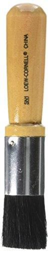 Loew-Cornell-Pennello con setole Stencil (1-inch) 2,54 cm Larghezza, Altri, Multicolore