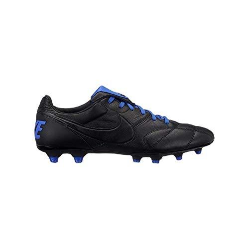 Nike Unisex-Erwachsene The Premier Ii Fg Fußballschuhe, Mehrfarbig Black/Racer Blue 040, 42.5 EU