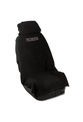 fixcape Autositzbezüge universal als Überwurf aus Baumwolle, Autositzbezug Schonbezug Sitzbezug für das Auto, Sitzbezüge Autositz, Werkstattschonbezug Vordersitze, Schwarz (Stoff-sitzbezüge Für Autos)