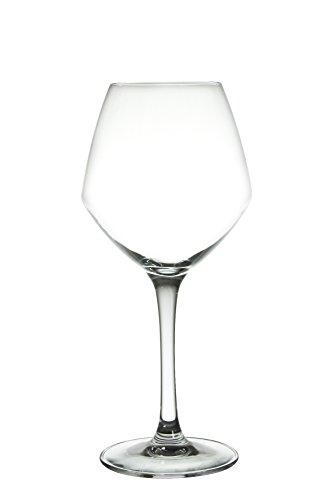 Cristal d'Arques 8012236 Instinct Verres à Pied Cristal Transparent 35 Cl, Lot de 3