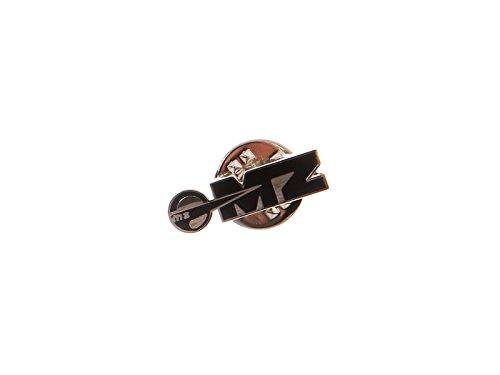 FEZ Ansteck-Pin MZ Logo in Schwarz/Silber