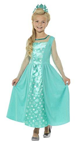 Kostüm Dress Ice Fancy Princess - Smiffys SMIFFY 'S 21837t Ice Princess Kostüm